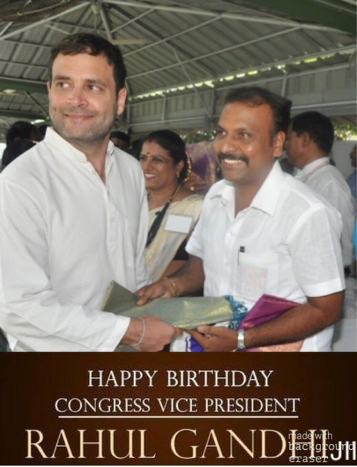 WISH YOU HAPPY BIRTHDAY TO OUR ONE MAN ARMY RAHUL GANDHI JIII