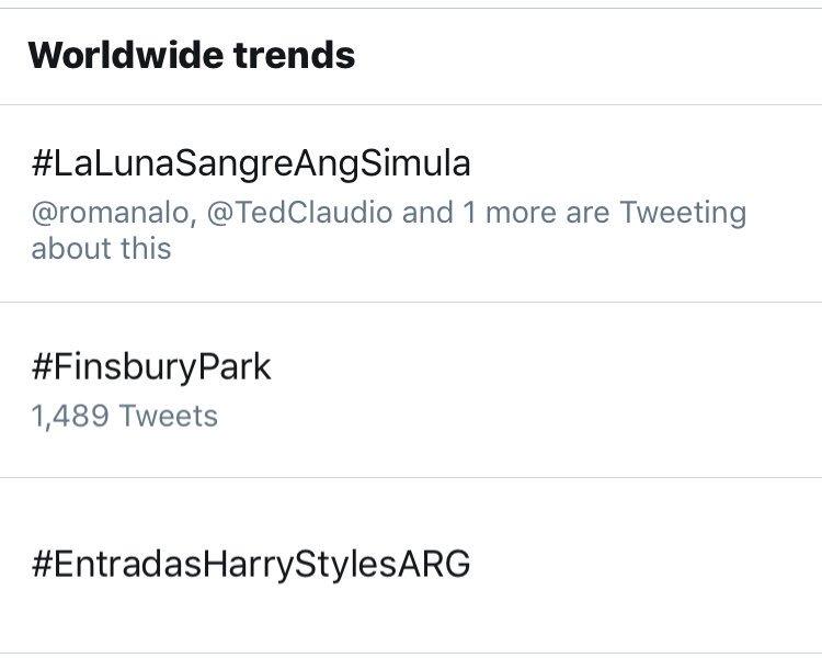 We are trending at no. 1 worldwide. Salamat sa lahat ng nanonood ngayo...