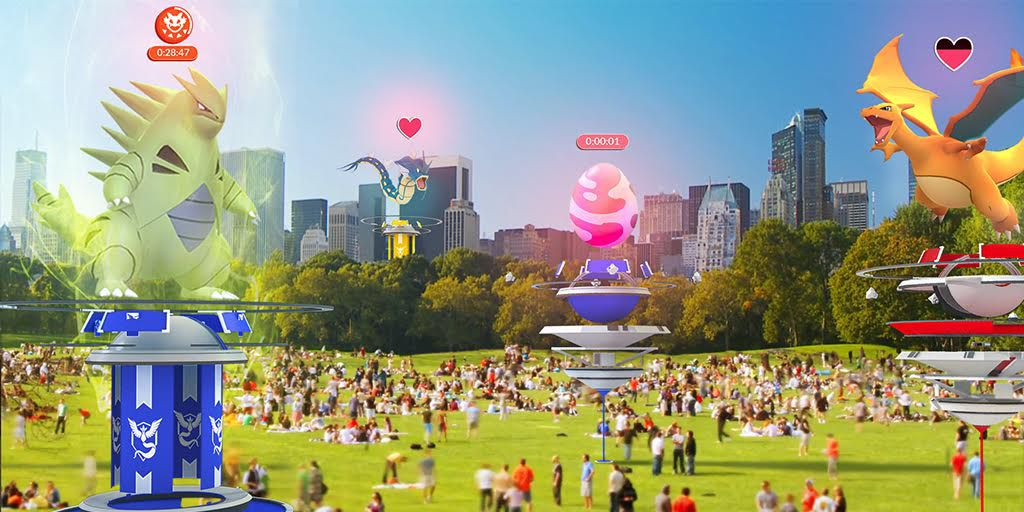 Pokémon Go's big summer update adds cooperative raids and redesigned gyms https://t.co/0ShIZkZxeF