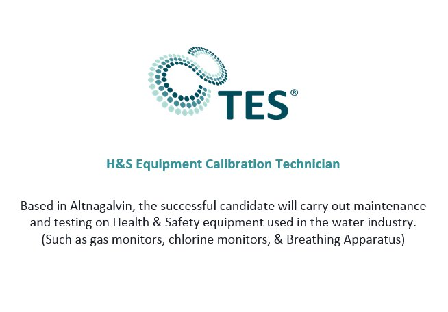 test Twitter Media - * NEW JOB ALERT *  Visit https://t.co/Xjb1mPyPIA for more information.  #NIJobs #Londonderry #Derry #HealthAndSafety #EquipmentTester #TES https://t.co/1qang20G0w