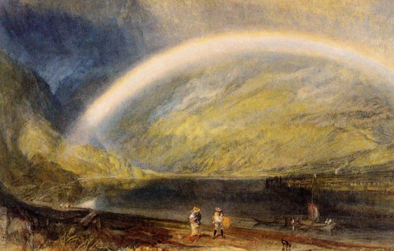 Rainbow #turner #arthistory<br>http://pic.twitter.com/ET0Byy40TV