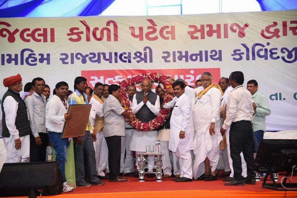 Koli community of Gujarat jubilant over Kovind's selection: Kovind had visited Gujarat just last week