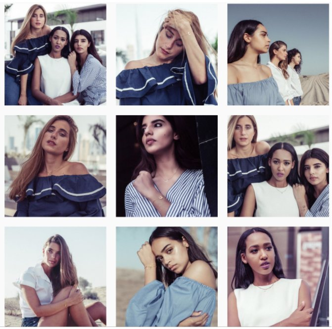 """""""The Symbols"""" collection by Agatha from Dubai is online along with 6 influencers and Ykone's creative concept: Tribes of Dubai. https://t.co/MBXgzcd61T"""