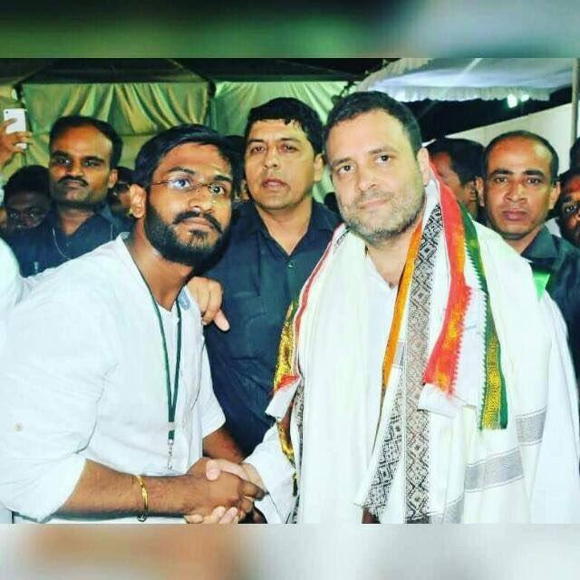 Happy Birthday to Hon\ble AICC Vice President Shri. Rahul Gandhi ji , President,  NSUI Telangana.