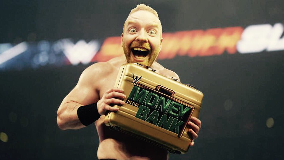 #MoneyInTheBank was awesome!   I'm so thrilled to have won...the first...