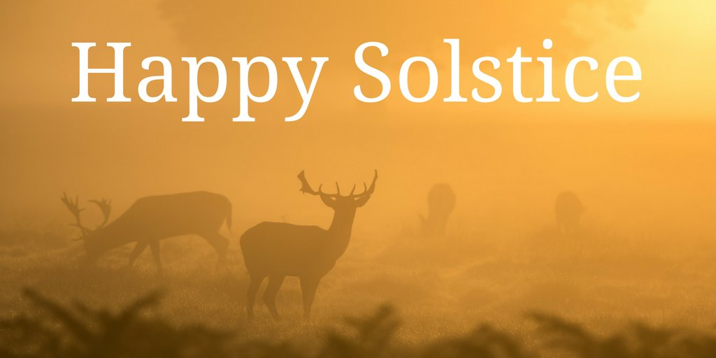 If you're celebrating today, we wish you a merry solstice, wherever you are in the world. https://t.co/zDjnniuSJx
