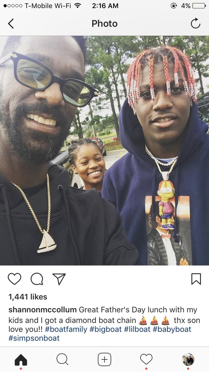 it's 2am and im really emotional about how proud lil yachty's dad is of him on instagram