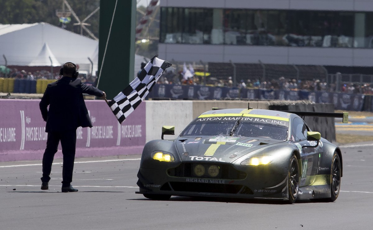 ICYMI: Aston Martin Racing claim 24 Hours of Le Mans victory.  Read more: