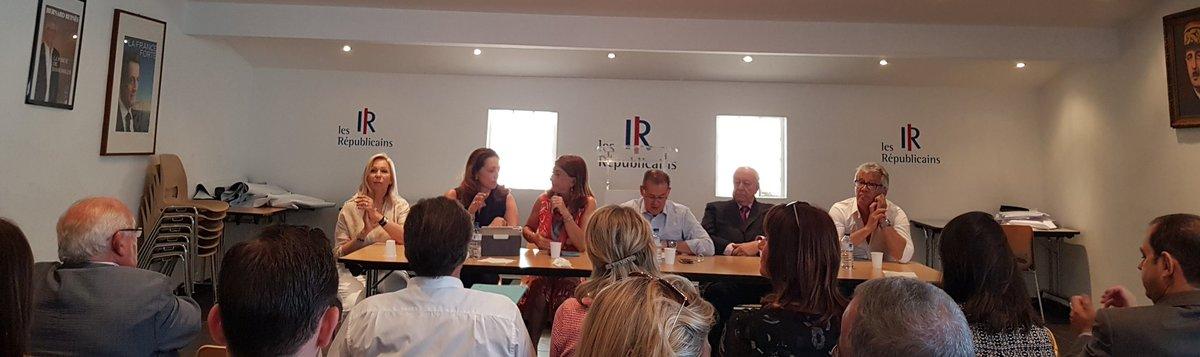 Bureau politique @lesRepublicains des Bouches-du-Rhône. Je veux saluer mon collègue @Dominique_TIAN