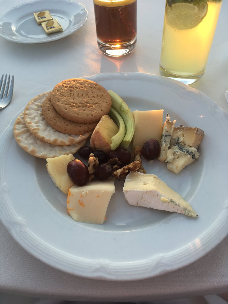 A girl can never have enough #cheese #cheeseboard on board #sagapearl2 #sagapearlII @Cruisemag @Sagaholidaysuk #food #nom #med #cruise<br>http://pic.twitter.com/1Yw3pIbveE