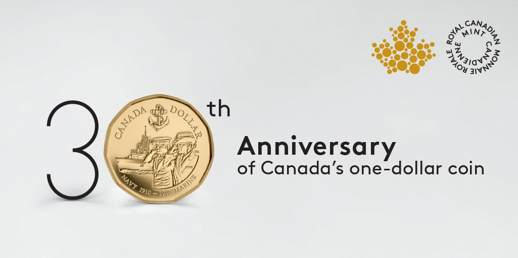 Fit for a Queen! This 2010 Loonie was unveiled by Her Majesty Queen El...