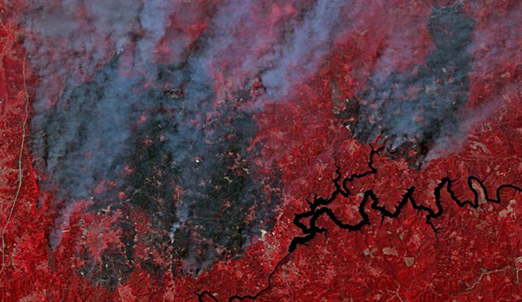 #Sociedade Imagens satélite dos incêndios de Pedrogão Grande https://t.co/gYjHbQq1IY Em https://t.co/MDmhqgtnSp