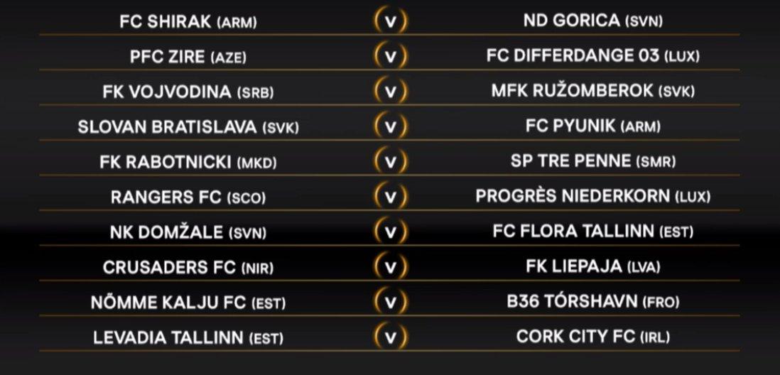Cork City FC have drawn Levadia Tallinn. #UELdraw #LOIinEurope<br>http://pic.twitter.com/H9Cj1EsPHM