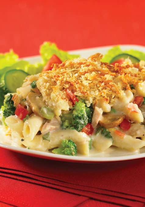 Creamy Tuna Pasta Bake #Recipe From Best Of Bridge: Home Cooking Cookbook