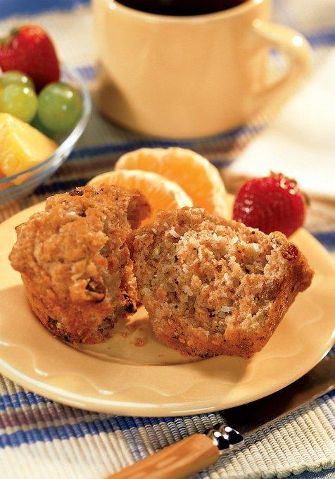 Carrot Raisin Muffins #Recipe