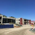 Kuokkalan yhtenäiskoulu rakentuu hyvää vauhtia Jyväskylässä. #LINJAarkkitehdit #kuokkala #jyväskylä #koulu #architecture