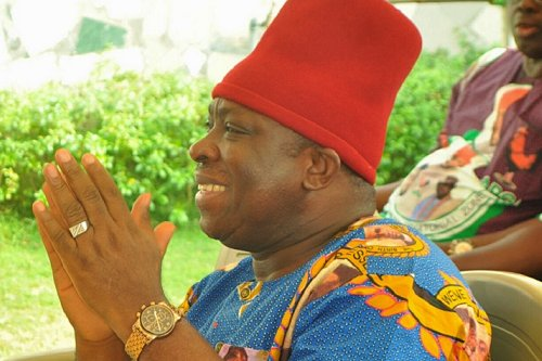 Ex-APGA chairman Victor Umeh lashed out on Osita Chidoka over some statements credited to him concerning the bogus $2b airport budget by Gov Obiano.