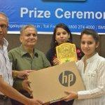 Image for the Tweet beginning: #Hathras girl Chanchal won #Talent