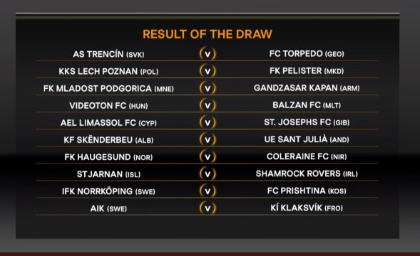 Imagine having to read these fixtures out on the telly #UELdraw <br>http://pic.twitter.com/rEoPd0vb2H