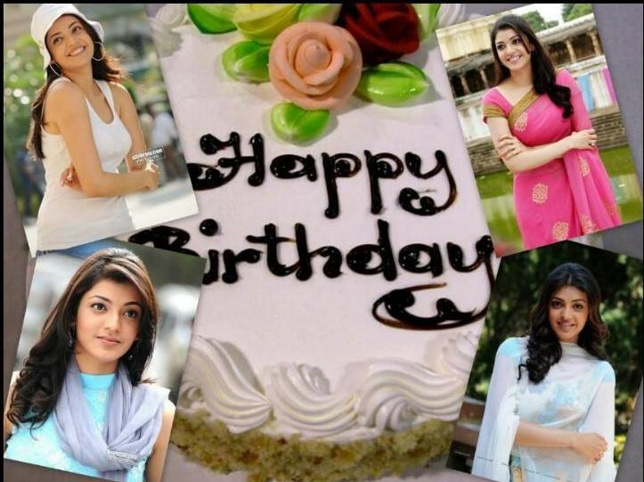 Kajal Agarwal S Birthday Celebration Happybday To