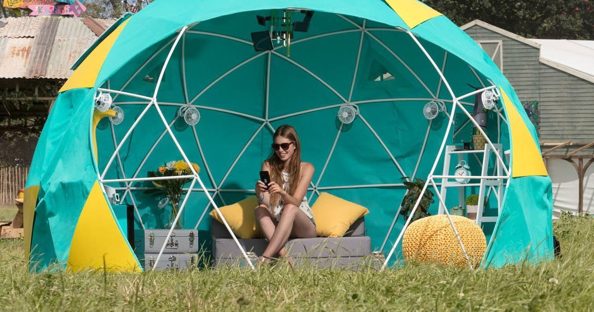 World's first 4G-connected smart tent to showcase 'Internet of Things' and virtual reality tech at Glastonbury Festival