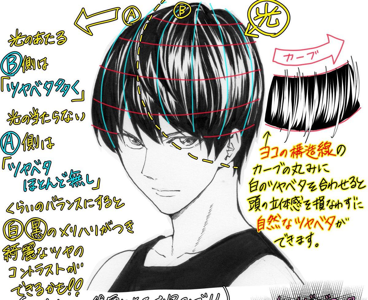 吉村拓也 イラスト講座 イケメンの顔の描き方 2700rt 6000イイね ありがとうございます かっこいい顔の比率ポイント 解説イラストもよければどうぞ