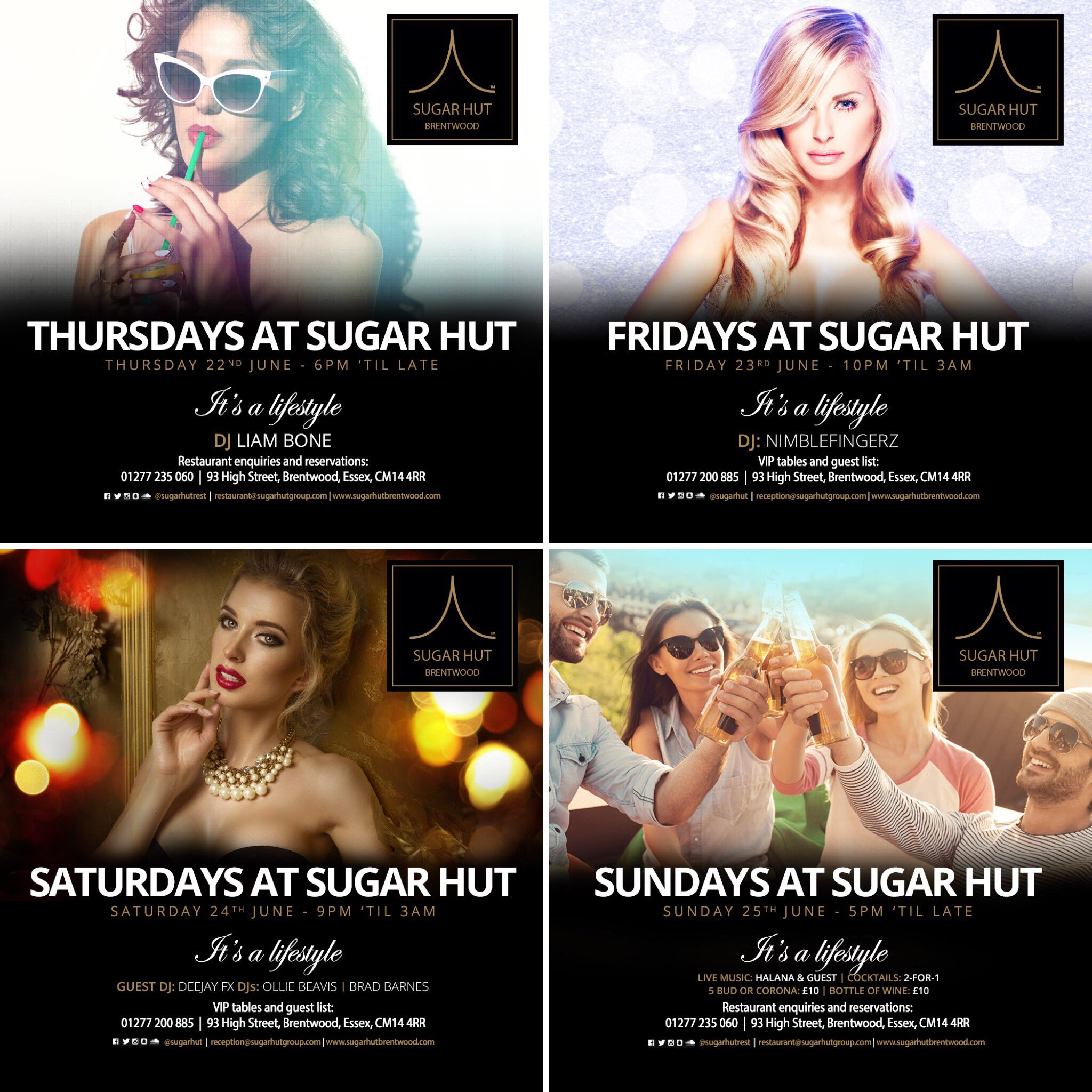 For all VIP table enquiries call us on 01277 200885 https://t.co/2IV2zEuWya