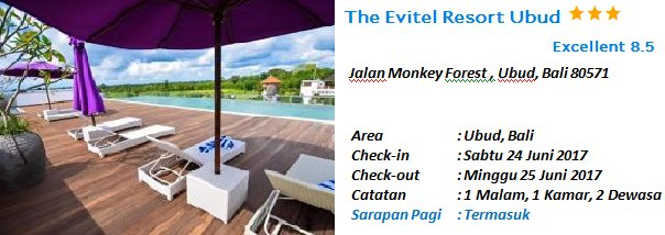 Tiket Hotel On Twitter The Evitel Resort Ubud Bali 24