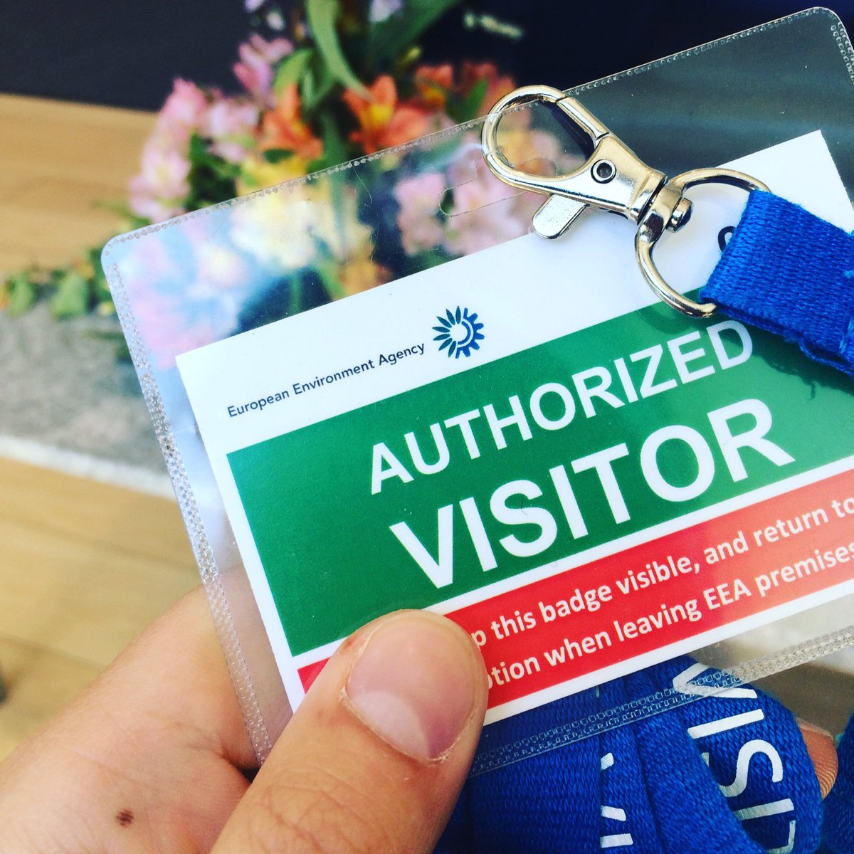 [DENMARK] Our badge collection gets bigger! Today, we&#39;re at the @EUEnvironment in Copenhagen  • #Survey #TREVE #Europe #REs #Sustainability<br>http://pic.twitter.com/ghG6Lv1equ