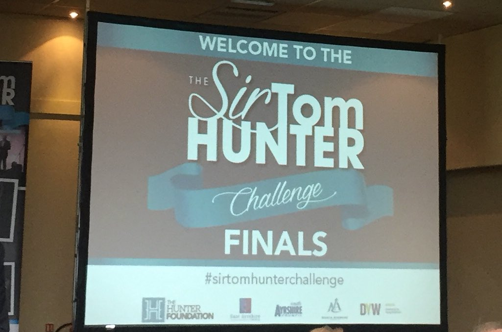 Very excited to hear who is the winner of the #sirtomhunterchallenge....