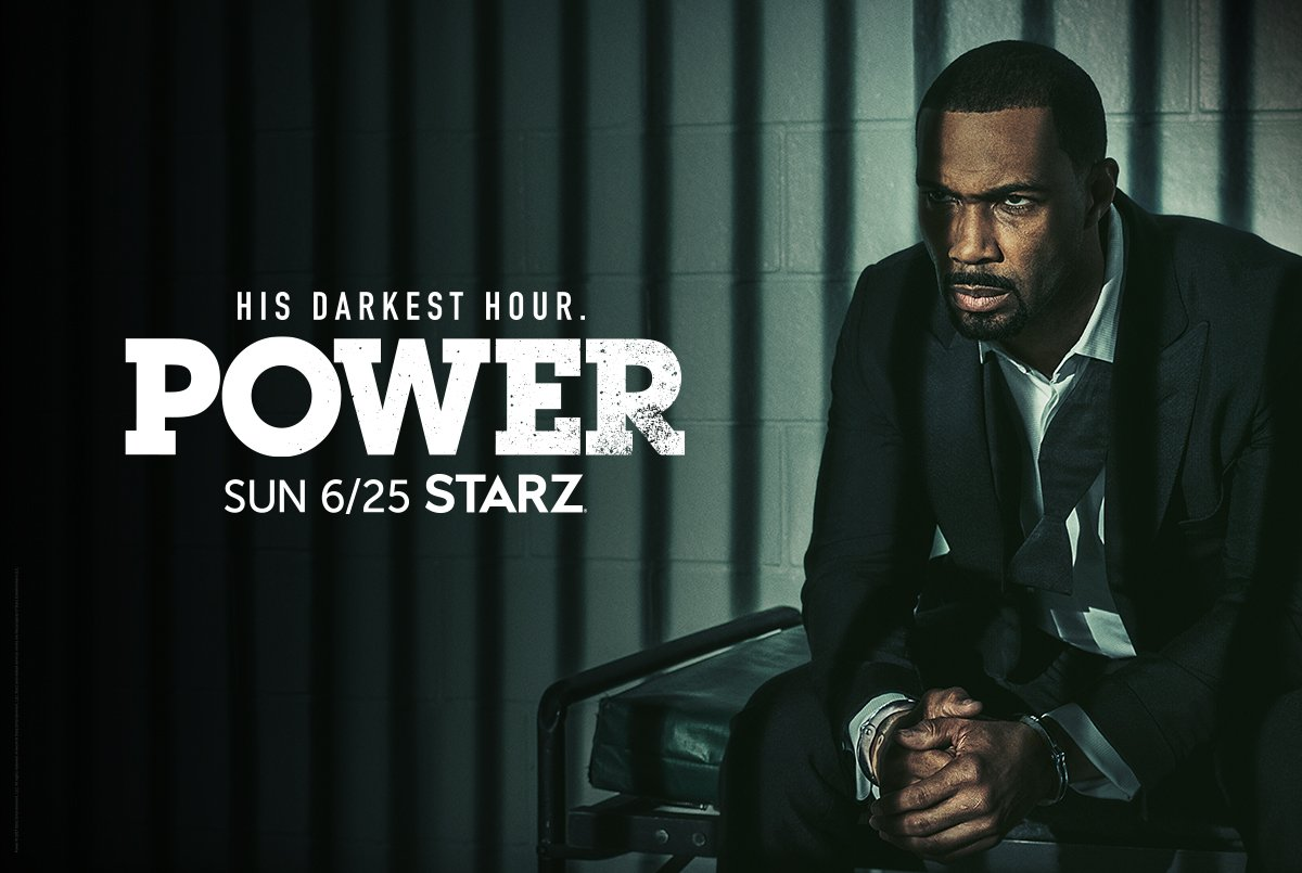 His darkest hour is near. Retweet now for a reminder to watch the 6/25 #PowerPremiere at 12:01am on the @STARZ app.