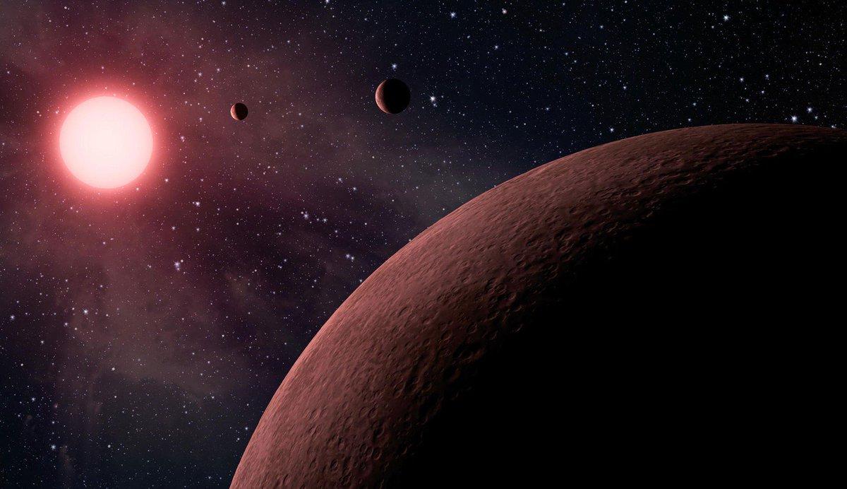 Nasa divulga lista de 219 novos candidatos a planeta descobertos pelo telescópio espacial Kepler https://t.co/Bhk4879NLz #G1