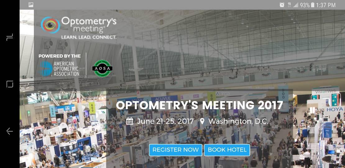 Who&#39;s going to Optometry&#39;s Meeting 2017? Click  #optometry #optometrists #eyecare #aoa2017<br>http://pic.twitter.com/aLj3XodtKN