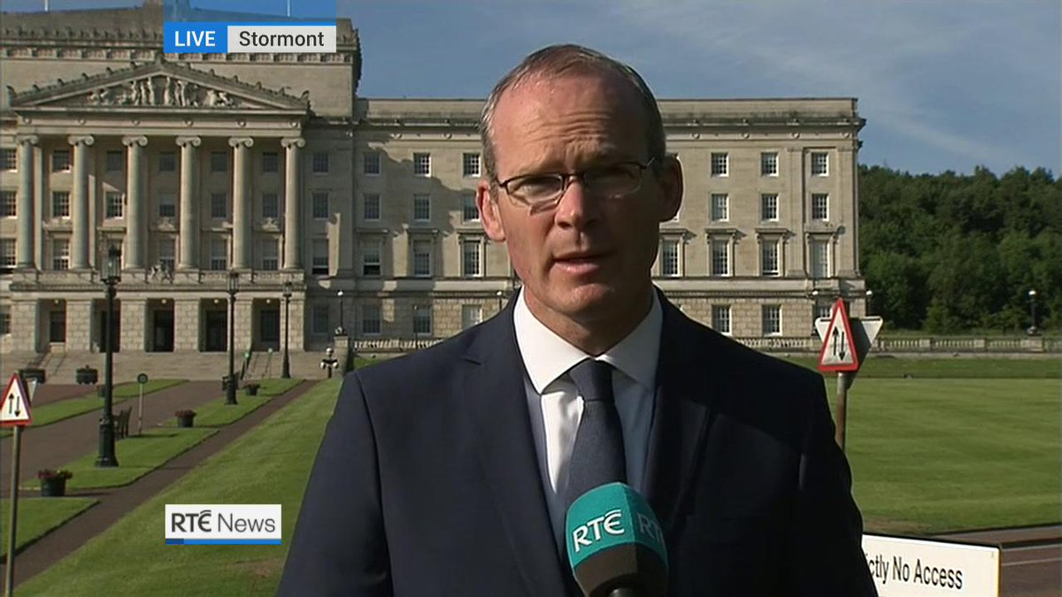 Ireland will not sign off on a Brexit deal unless we protect Good Friday Agreement fully - Coveney