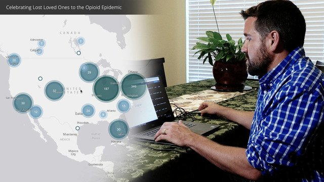 Colorado man on a mission to map opioid overdoses after losing his younger brother