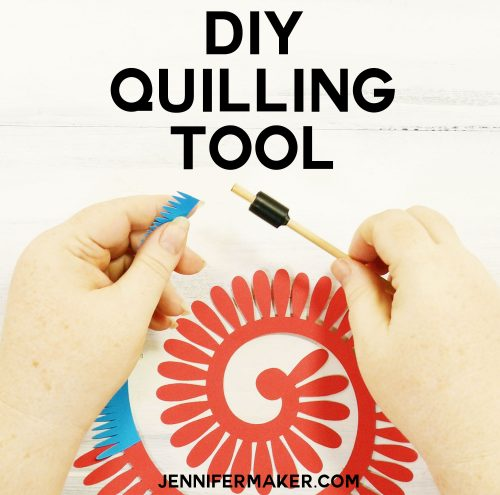 How to Make Your Own DIY Quilling Tool