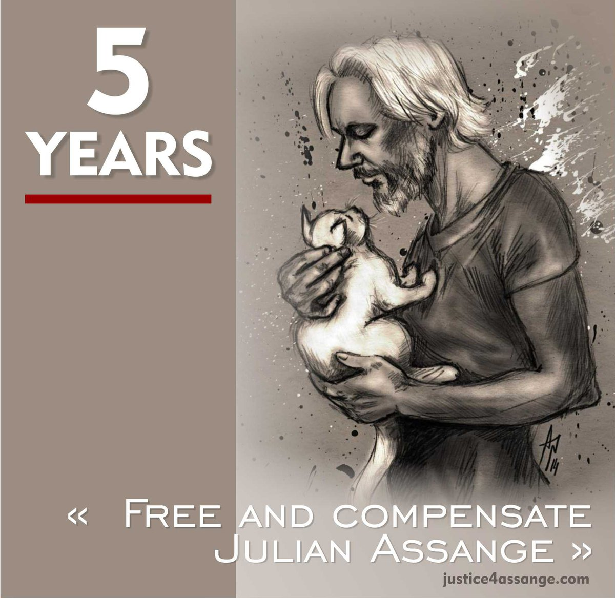 Julian #Assange should walk free!  is detaining him illegally according to 2 UN rulings! , restore Julian&#39;s freedom NOW! #FreeAssangeNOW <br>http://pic.twitter.com/BAZ8CUxRho