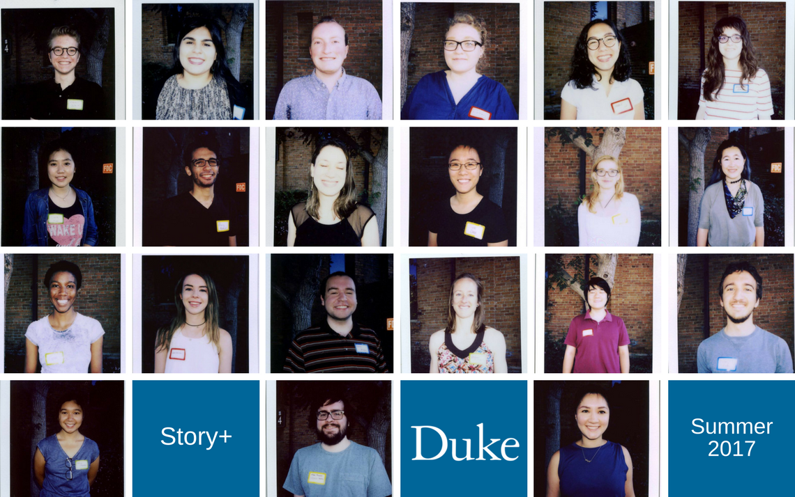 Story+ 2017 students
