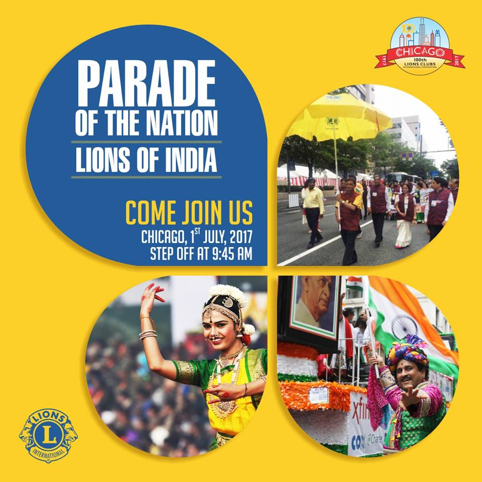 .#India in #ParadeofNations for #LCICON2017..  Come Join Us... #LCI #Lions100 #LionsClubs #ProudLions<br>http://pic.twitter.com/yfAXVP0VaN