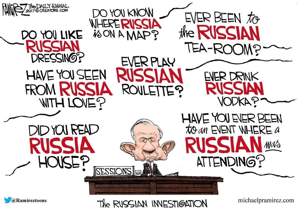 #AmericanHumour Suggested additional questions: Have you ever heard music by Tchaikovsky? Or have you ever seen Kremlin on TV?