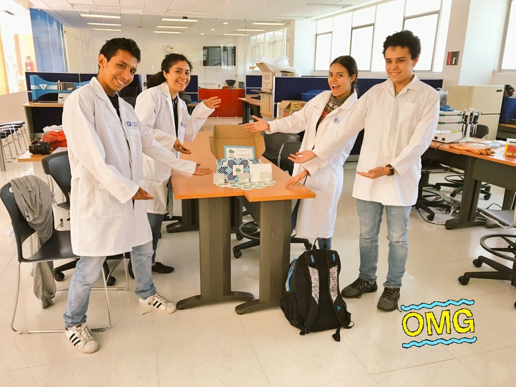 Last friday we got our package and today we are ready to work! #Finally #iGem2017  #iGemTecCem #FTW who else is doing #interlab ? Good luck!<br>http://pic.twitter.com/EM9EojtkE7