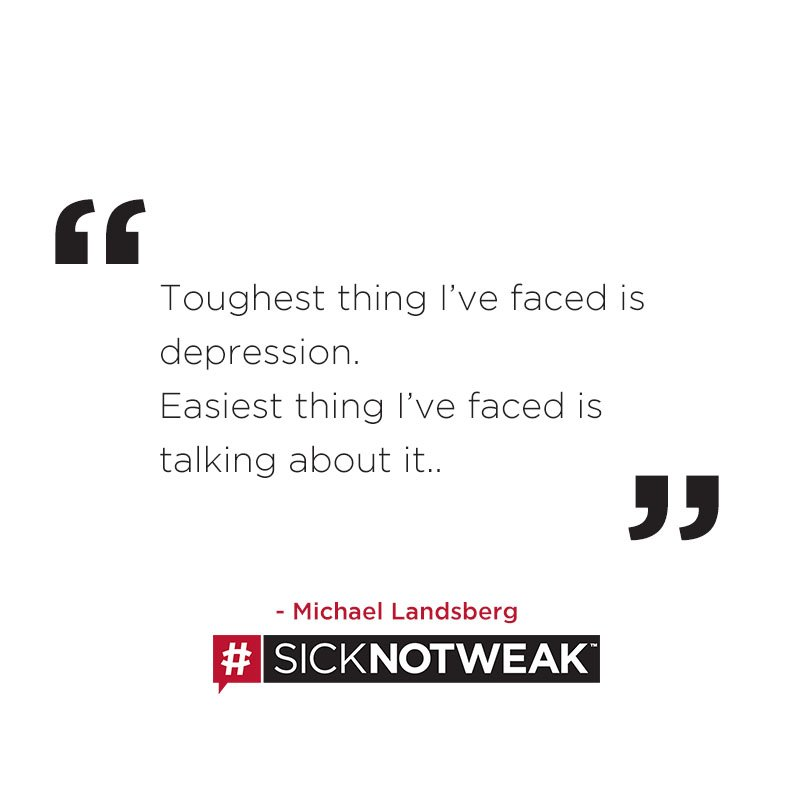 Are you comfortable sharing about your mental health? If not, why? #SickNotWeak