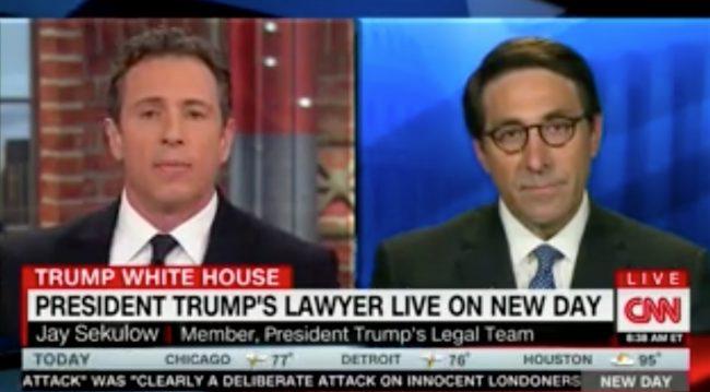 Chris Cuomo Grills Jay Sekulow on Mueller Investigation in Marathon Face-Off https://t.co/wnpRsd5GGJ