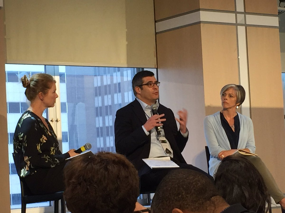 .@MissionInvest and @InvestorsCircle talking #impactinvesting @SOCAPmarkets&#39; Good Capital Project in #NYC<br>http://pic.twitter.com/5UxPhot760