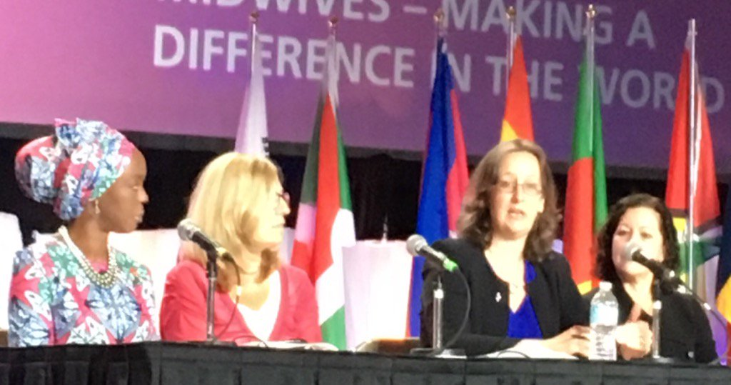 """""""When we empower #midwives, we improve #MaternalHealth outcomes""""~@JuliaBuntingPC @Pop_Council #ICMLive https://t.co/HSdWdnOXzN"""