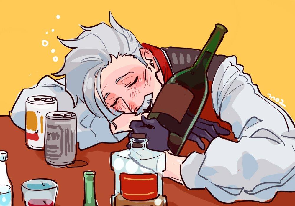 酔って寝ると無害な老人に見えるとはオルトリアさま談