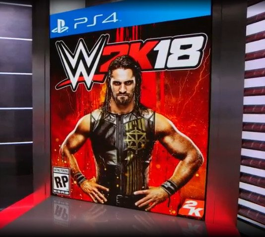 Сэт Роллинс - лицо WWE 2K18