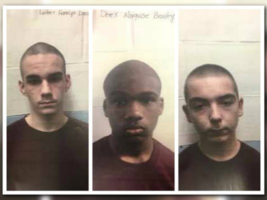 Search on for three escaped juvenile inmates from Jacksonville