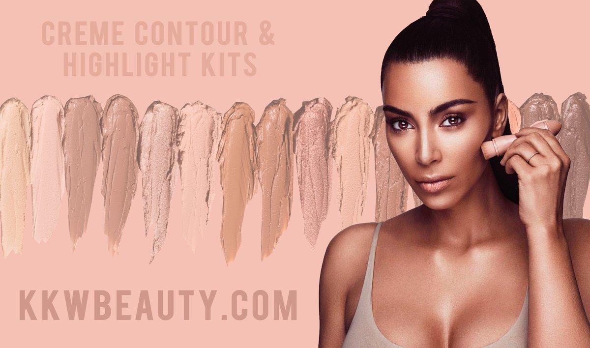 #KimKardashian's new makeup line #KKWBEAUTY