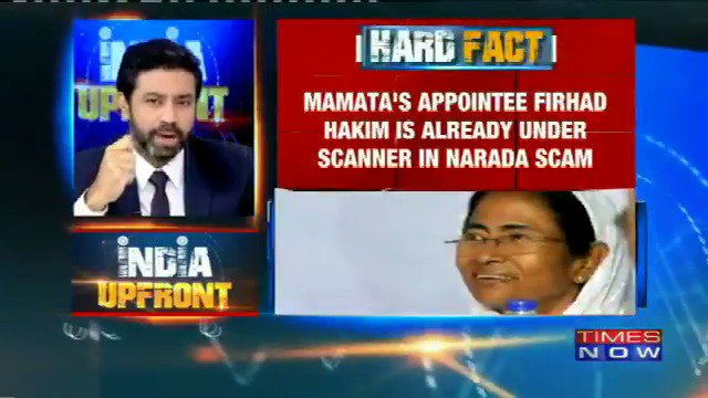 #IndiaUpfront | Hard Facts on Mamata Banerjee's controversial 'design to divide' #MandirMeinBatwara